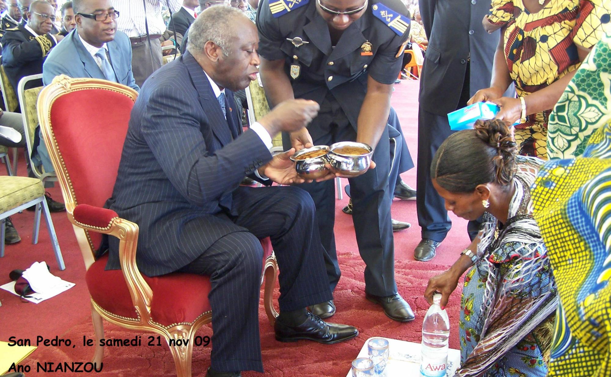 Laurent Gbagbo: l accueil
